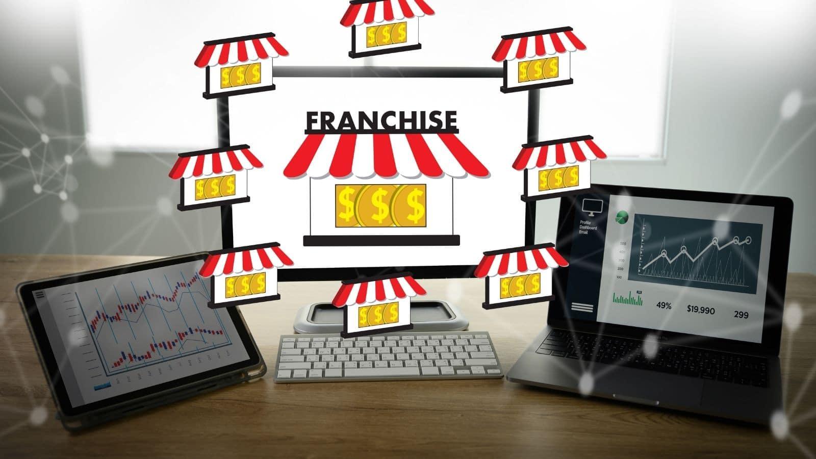 ilustrasi peluang usaha franchise
